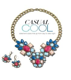 I'm ♥ loving ♥ this necklace right now! Fun bright colors and so cute for dressing up my everyday look!  www.youravon.com/lezstep #AvonRep #Avon