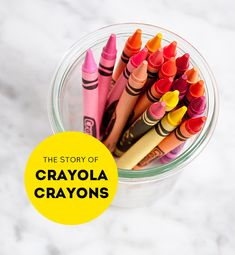 """The name Crayola was actually coined by Binney's wife, Alice, by combining the French words """"craie"""" (chalk) and """"oléagineux"""" (oily). When introduced, a box of Binney & Smith's Crayola crayons sold for 5¢ and included eight colors: blue, green, red, orange, yellow, violet, brown, and black."""