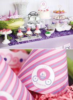 princess-dessert-table