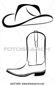 Tribal Cowboy hat and boot Stock Illustration Western Party Decorations, Western Parties, Horse Birthday Parties, Cowboy Birthday Party, Cowboys Wreath, Chapeau Cowboy, Cowboy Theme Party, Wild West Theme, Cumple Toy Story