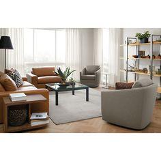 Ford Custom Swivel Chair - Modern Accent & Lounge Custom Chairs - Modern Custom Furniture - Room & Board