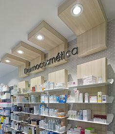 Farmacia Arias Gomez - taller de farmacias. Diseño , proyectos y reformas de farmacias en Galicia, A Coruña, Pontevedra, Lugo, Orense.