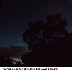 Venus & Jupiter over UK