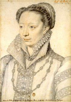 Dame Claude Catherine de Clermont, 1ère. Duchesse de Retz, Dame de Machecoul, Baronne de Dampierre (1543-1603).