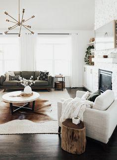 How to Create a Cozy Living Room - Amy E Peters BLOG #homedecor #livingroom #cozy #home #homedecoratingideas #bohostyle #article #timbersofa