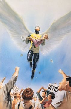 Alex Ross Marvels #2 Cover                                                                                                                                                                                 More