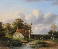 Bilders, Albertus Gerardus (Utrecht 1838-Amsterdam 1865) - Dutch painter (first generation 'Haagse School') (1838-1865)
