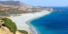 The ambient beach of Triopetra in Akoumiani Gialia, on the south coast of Rethymno, one of the richest wonderspots in terms of healing energy, offering endless views on the Libyan Sea. https://www.facebook.com/SentidoAegeanPearl/photos/pcb.930990263608971/930989630275701/?type=1