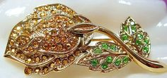 Vintage Danecraft Brooch Pin Signed by BrightgemsTreasures on Etsy, $24.50