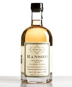 To my mind, ordering an Old Fashioned made with Ransom Old Tom Gin is like that. It's a way to keep enjoying a favorite wintertime drink in the warm months, without losing that hefty richness that makes you love it in the first place.