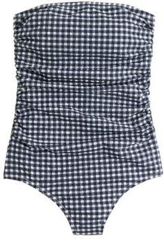b1a54cdc955 The Most Flattering Swimsuits For Every Body Type One Piece Suit, Gingham,  One Piece