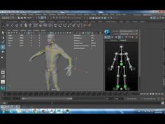 Posing your Character Quickly with Maya QuickRig and Zbrush Transpose - YouTube