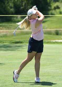 Brittany Lincicome at the 2008 LPGA Championship.