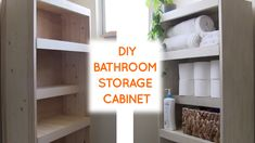 38 small bathroom storage ideas and wall storage solutions 9 Toilet Storage, Wall Storage, Storage Cabinets, Diy Storage, Storage Ideas, Bathroom Storage Solutions, Small Bathroom Storage, Tiny Bathrooms, Amazing Bathrooms