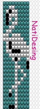 BISUTERIA DE NCALL100: PATRON FLAMINGO Loom Bracelet Patterns, Seed Bead Patterns, Bead Loom Bracelets, Peyote Patterns, Jewelry Patterns, Beading Patterns, Tear, Seed Bead Jewelry, Beading Projects