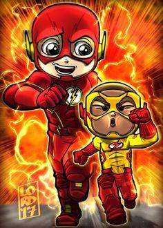 Flash and KidFlash