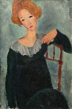 Woman with Red Hair, 1917 Amedeo Modigliani
