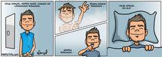 Marçal Morando Sozinho é uma série meta-auto-biográfica do Autor Rafael Marçal onde são explorados temas domésticos, cotidianos e de relacionamentos. Para acompanhar mais tiras da série, clique aqui. Leia mais...