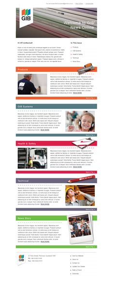 Free and Premium Email Newsletter Templates and Layouts - employee newsletter template