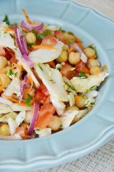 Salada de Bacalhau com Grão de Bico - Codfish and Chickpea Salad