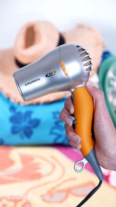 Reisehaartrockner Grundig HD 2509 Test - Mini-Reisefön unter der Lupe ... - Praxis Tests! Ac Dc, Lupe, Hair Dryer, Personal Care, Mini, Diffuser, Dryers, Viajes, Tips