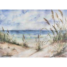 Seascape Paintings, Painting Prints, Wall Art Prints, Watercolor Paintings, Canvas Prints, Beach Paintings, Painting Canvas, Beach Watercolor, Watercolor Landscape