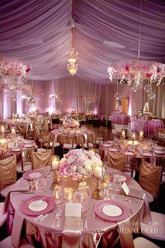 Pretty in Pink Backyard Wedding in Atlanta Planned by ellyb Events - Munaluchi…