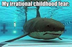 Tha hilarious thing is that I can do a perfect Jaws imitation in a pool....crap...now no one will ever know if I DBS (Die by shark)