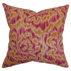 Pairing artful allure with bold flair, this eye-catching design adds a chic pop of style to your home decor.    Product: Pillow...