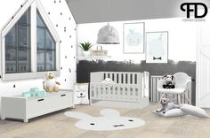 Jace kidsroom - NurseryThis set was actually planned for July 2016, but it had a little delay. I didn't like it the way it turned out this first time, so I decided to stop making this set. So with...