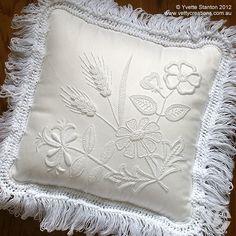portuguese embroidery | ... cushion Portuguese whitework ornaments Portuguese whitework biscornu