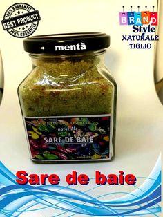 Sare de baie menta Fashion Branding, Salsa, Jar, Food, Style, Mint, Swag, Essen, Salsa Music