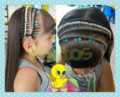 Hair Beauty, Hair Styles, Up Dos, Hair, Cute Kids Hairstyles, Party Hairstyles, Girls Hairdos, Girls Braids, Child Hairstyles