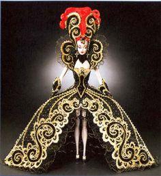 "Bob Mackie Custom ""Dream Halloween"" Evil Madame Du Barbie"
