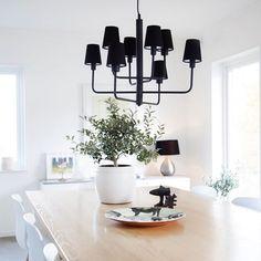 eaf1163204c Beautiful black hanging lamp from by Rydens #byrydens #sessaklighting  #sessak #lightingdesign #