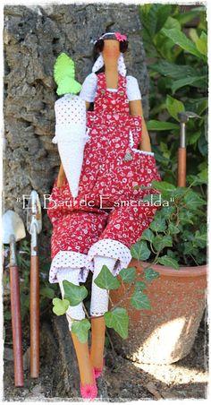 garden tilda doll