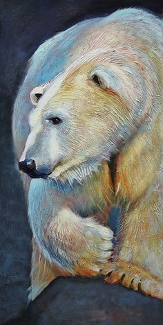 Polarizing by Linda Wilder Acrylic ~ 36 x 18