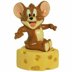"""""""Jerry And Cheese"""" Salt and Pepper Shaker Set by Westland Giftware"""