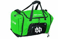 NCAA North Dakota Fighting Sioux Roadblock Duffle Bag by Concept 1. $25.00. Large main compartment. Multi pocket organization. Interior shoe compartment with air vents. Embroidered felt applique primary logo. Screen printed secondary logos. The Roadblock is a magnificent bag that offfers space and multiple compartments to fit all of your belongings.  Convenient for the gym, a weekend getaway, or any activity that requires a spacious bag.