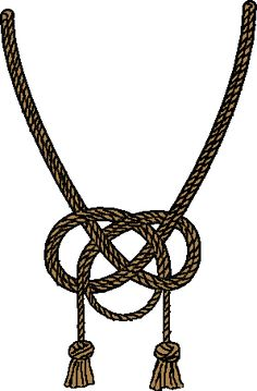 One way to tie an Alamar knot