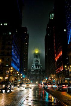 20 edifícios do mundo real que parecem o lar de supervilões Philadelphia City Hall, Filadélfia, EUA