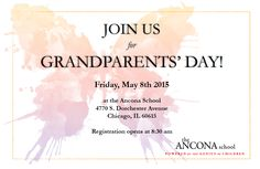 family tree invitations to grandparents day at school - Google Search