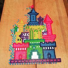 Castle perler beads by bead.monkey