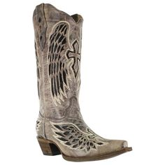 Corral Women's Wing and Cross Snip Toe Western Boots Ive waited forever for this style to come out in these colors, This one of my all time fav Corral boots, avail at Boot Barn. $244.99