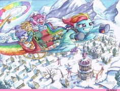 Rainbow Dash,Рэйнбоу Дэш,mane 6,my little pony,Мой маленький пони,фэндомы,Rarity,Рэрити,Pinkie Pie,Пинки Пай,Applejack,Эпплджек,mlp art,mlp traditional art