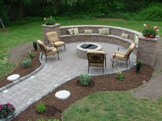 Beautiful Outdoor fire pit: