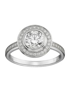 Cartier D'Amour Solitaire #Engagement Ring