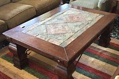 Slate Top Coffee Table  - Columbus SKU: WLR7W6   - $248