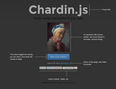 Chardin.js - Simple Overlay instructions for your apps
