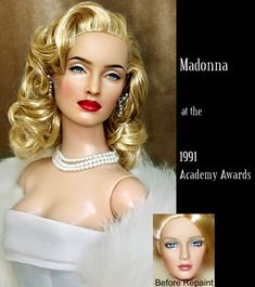Doll Repaint - Madonna in 1991 by noeling.deviantart.com on @deviantART